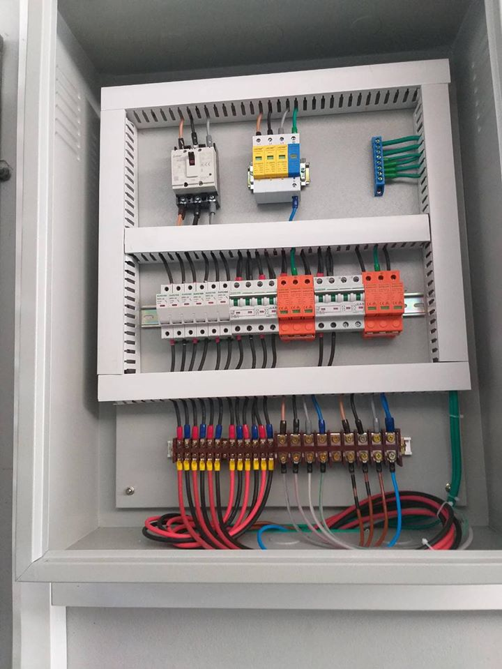 Professionally maintained installation