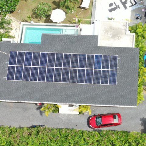 10 KW Solar Samui systems works perfect near Leam Sor