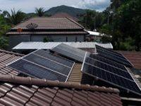 6 KW Project on grid near Talingngma