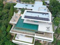 12KW Solar Koh Samui System on luxury Villa